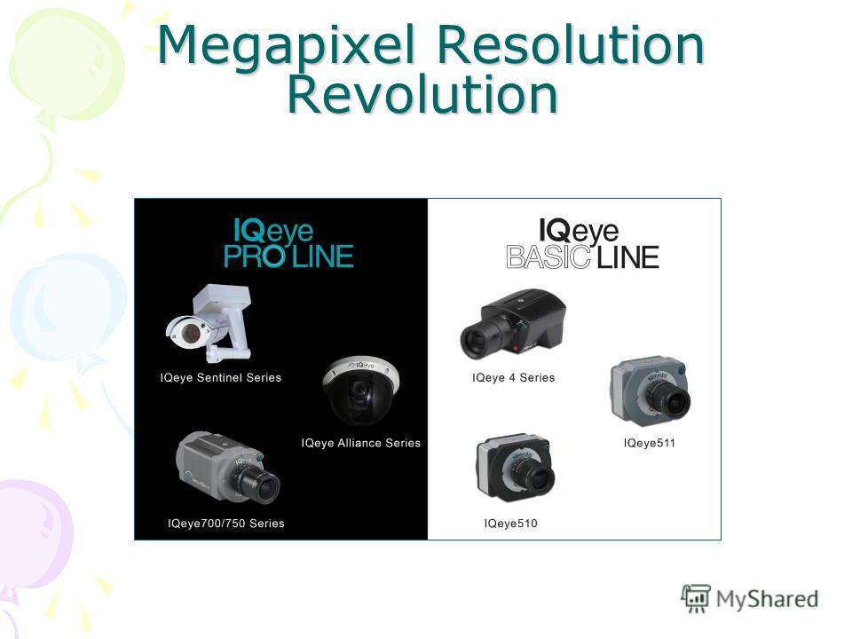 Megapixel Resolution Revolution Megapixel Resolution Revolution