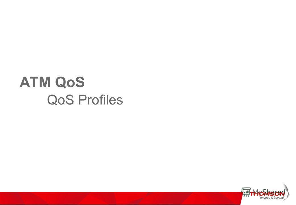 ATM QoS QoS Profiles