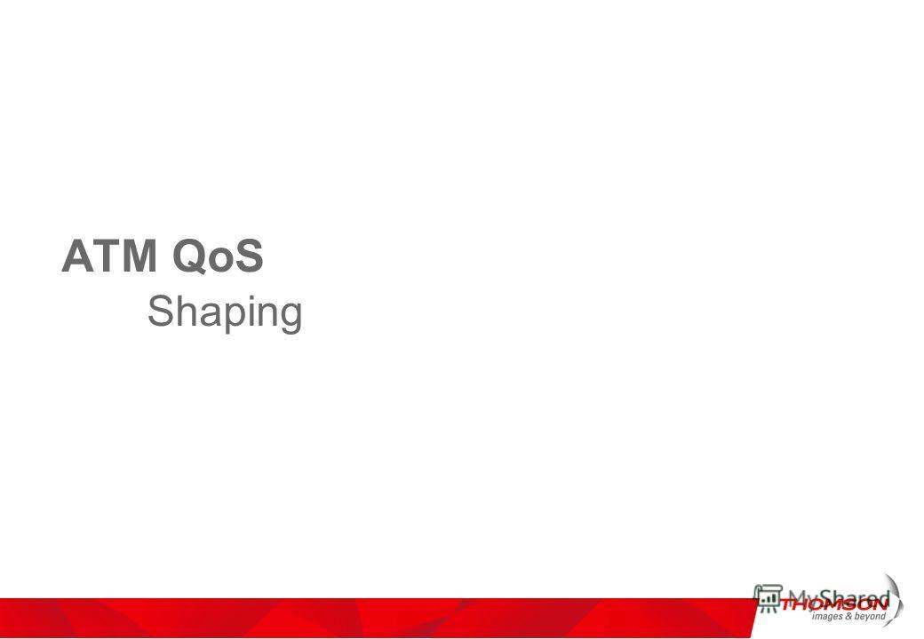 ATM QoS Shaping