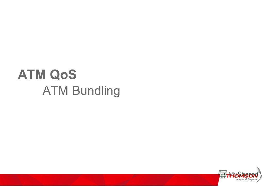 ATM QoS ATM Bundling