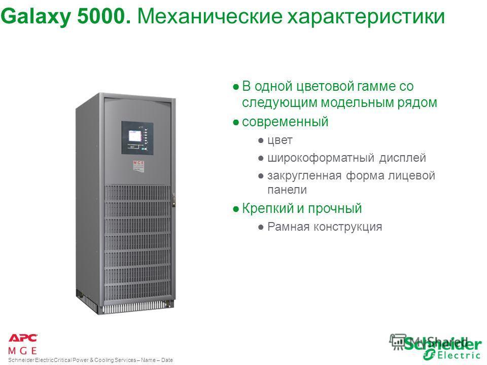 Schneider ElectricCritical Power & Cooling Services – Name – Date Galaxy 5000. Tехнологический дизайн. Full-of-empty. Платы электропитания Входные и выходные статические бесконтактные коммутаторы Входные фильтры Платы контрольных команд Зарядное уст-