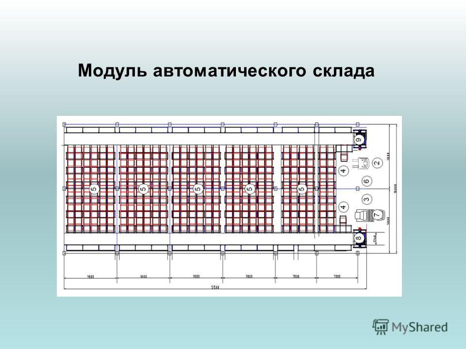 Модуль автоматического склада