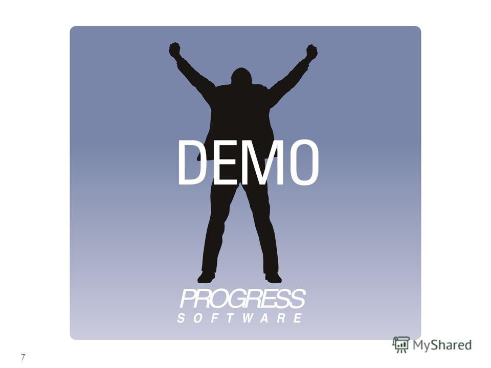 © 2009 Progress Software Corporation. All rights reserved. Demonstration 7