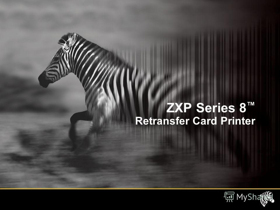 ZXP Series 8 Retransfer Card Printer