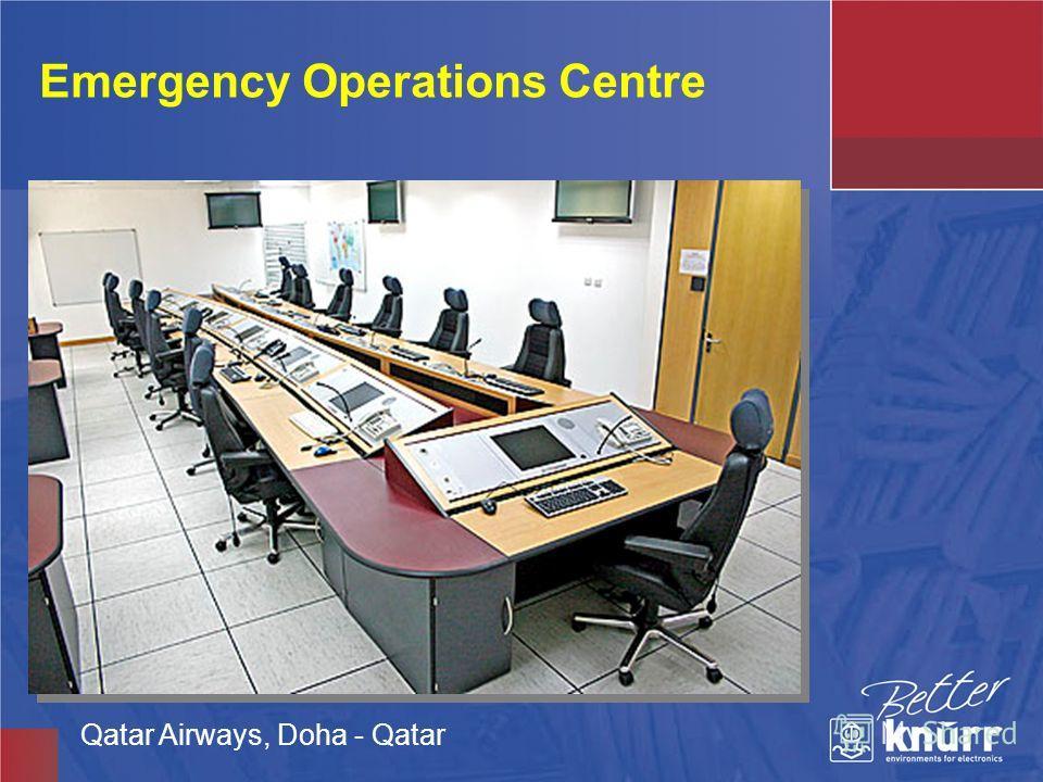 Emergency Operations Centre Qatar Airways, Doha - Qatar