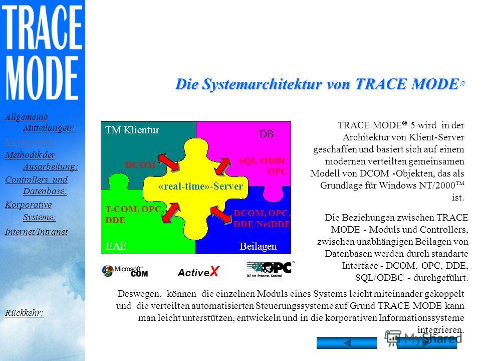 Das fertige Projekt wird in das Standardformat TRACE MODE umgewandelt. Dabei wird eine Kopie des professionellen Werkzeugsystems gratis zur Verfügung gestellt! Werkzeugsystem - gratis! Allgemeine Mitteilungen; Komponente; Methodik der Ausarbeitung; C