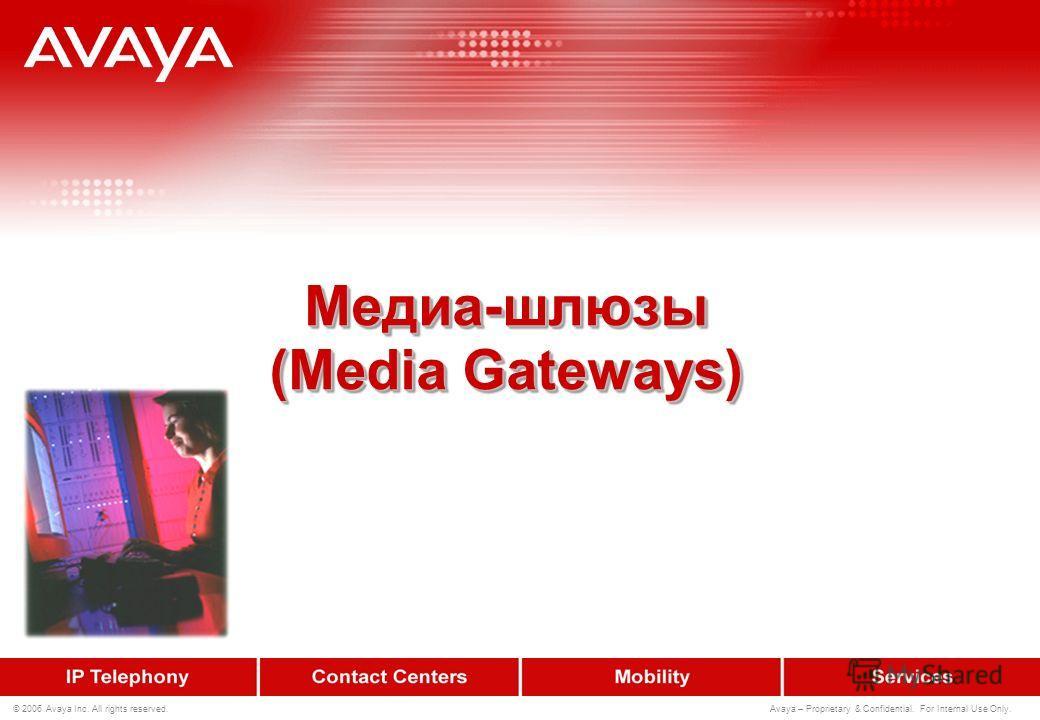 22 © 2006 Avaya Inc. All rights reserved. Avaya – Proprietary & Confidential. For Internal Use Only. Ёмкость и производительность Медиа-сервера S8300 не дублирован Встроен в G700, G350, G250 до 10,000 вызовов, обслуженных в ЧНН До 450 абонентов/СЛ S8