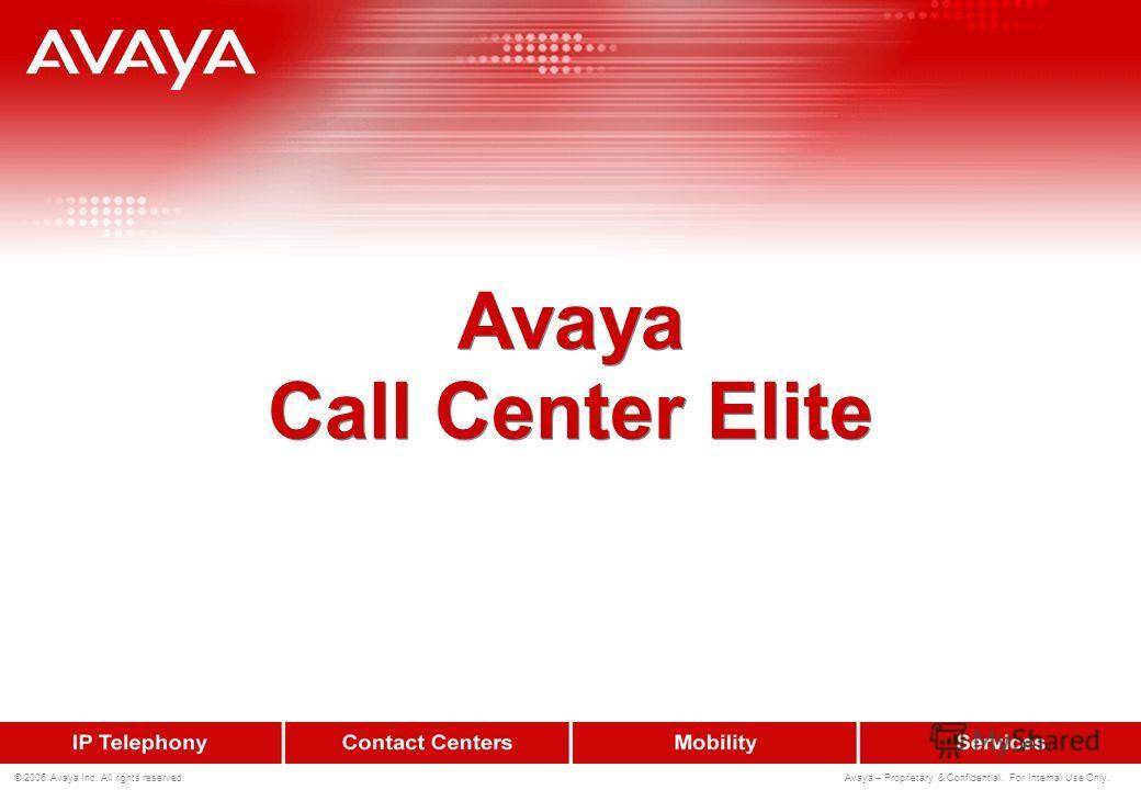 51 © 2006 Avaya Inc. All rights reserved. Avaya – Proprietary & Confidential. For Internal Use Only. Пример хронологического отчета