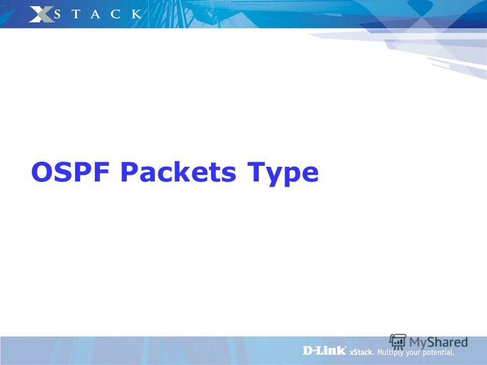 OSPF Packets Type
