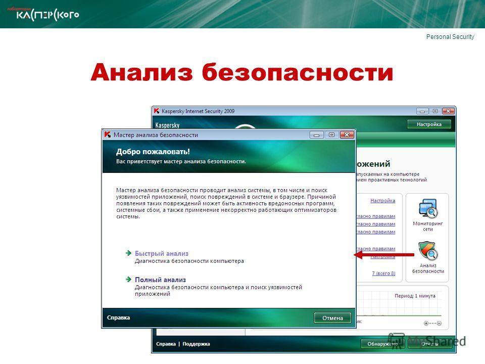 Personal Security Анализ безопасности