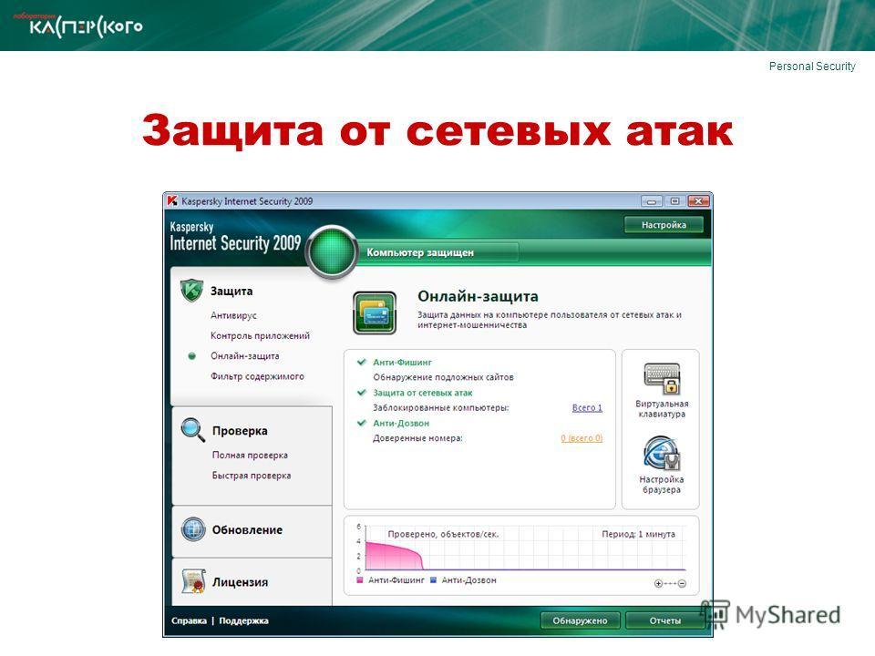 Personal Security Защита от сетевых атак