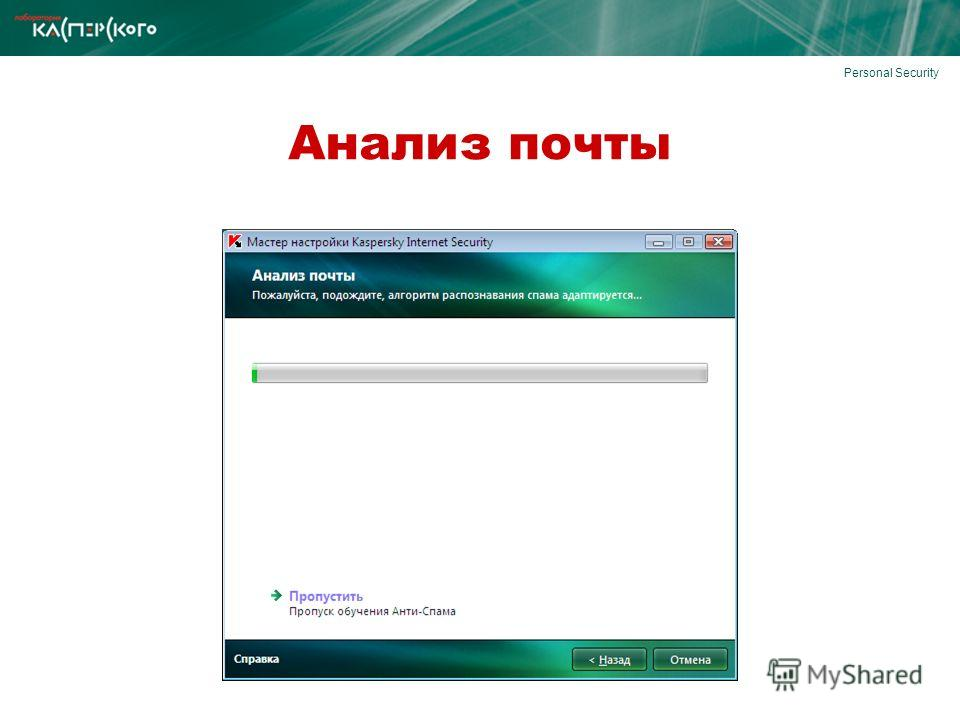 Personal Security Анализ почты