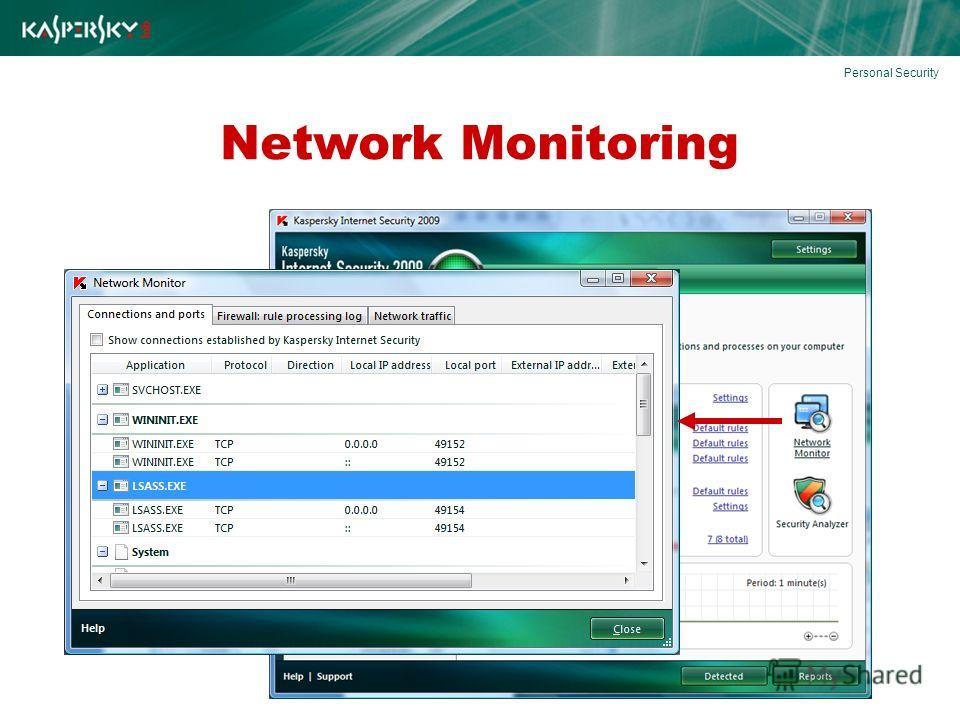 Network Monitoring Personal Security
