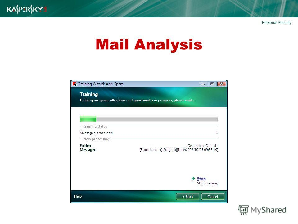 Mail Analysis Personal Security