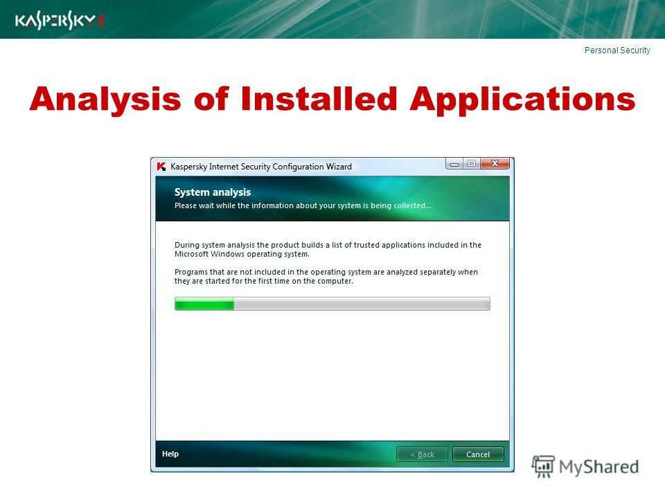 Analysis of Installed Applications Personal Security