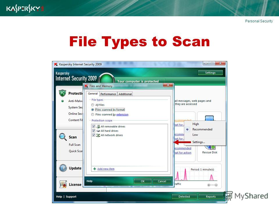 File Types to Scan Personal Security