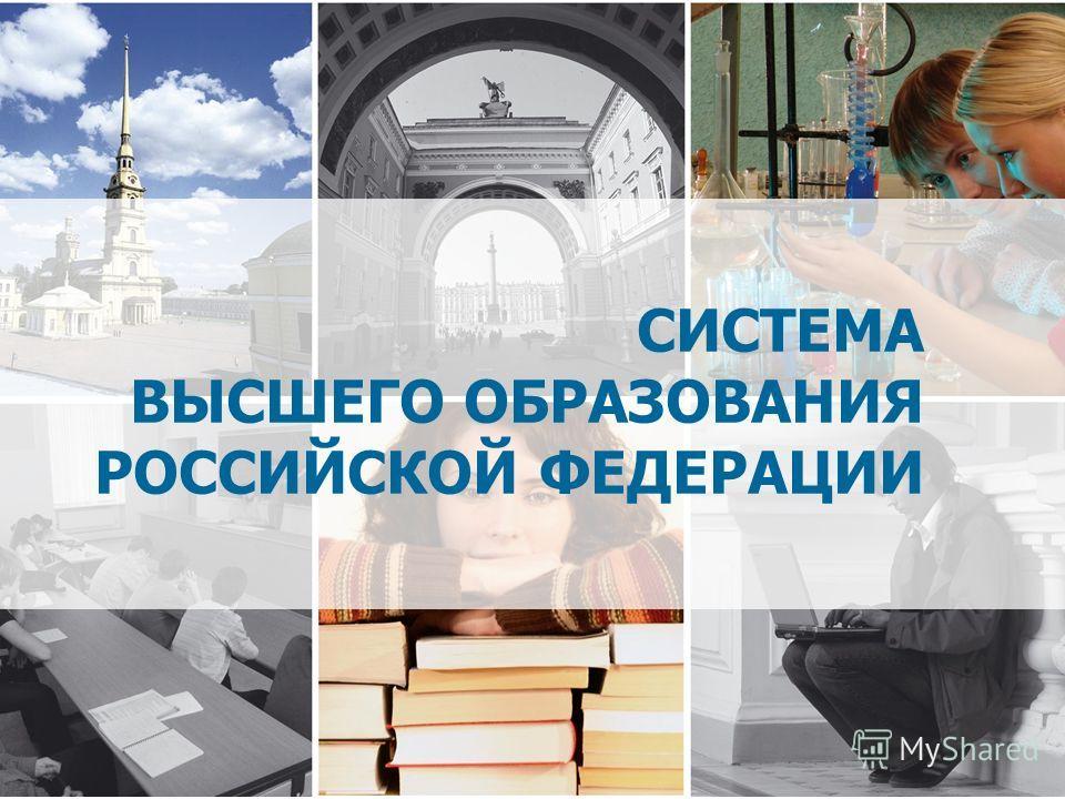 СИСТЕМА ВЫСШЕГО ОБРАЗОВАНИЯ РОССИЙСКОЙ ФЕДЕРАЦИИ