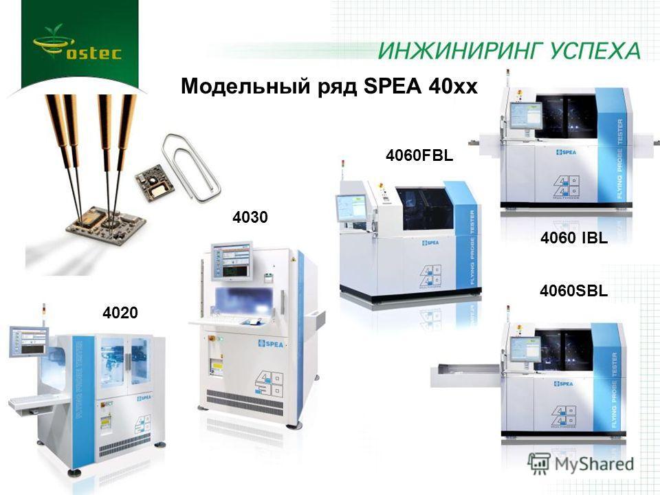 4020 4030 4060FBL 4060SBL 4060 IBL Модельный ряд SPEA 40xx