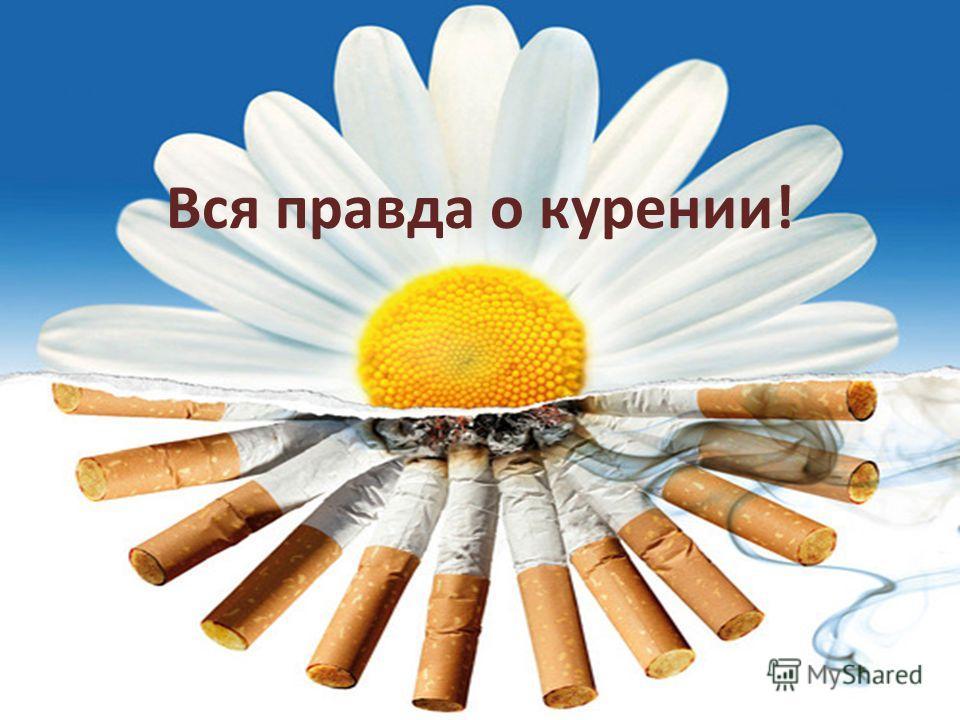 Вся правда о курении!