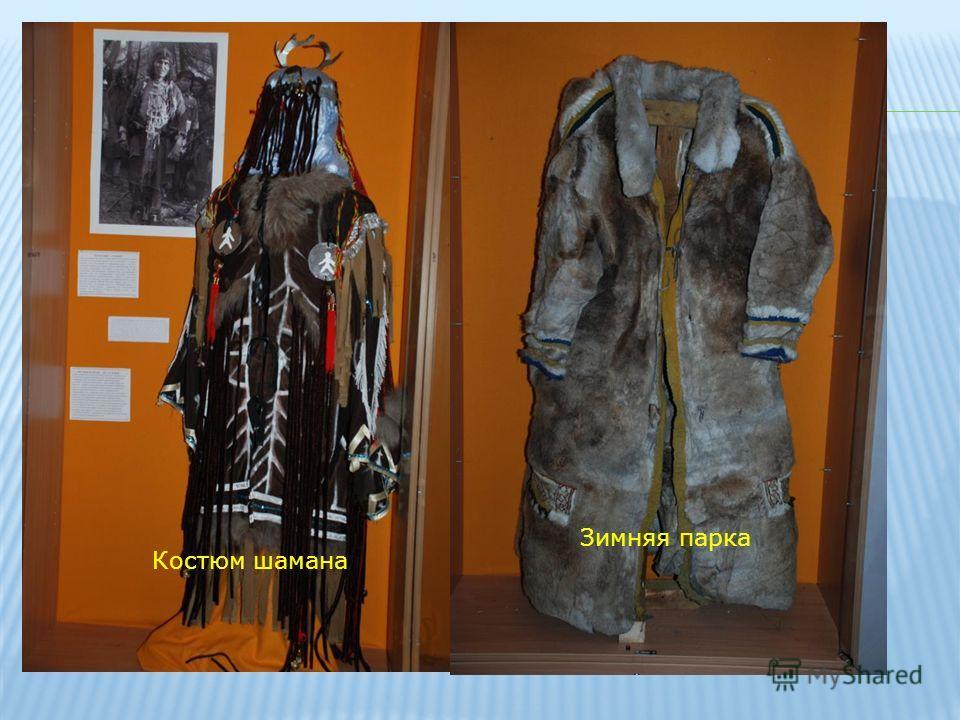 Костюм шамана Зимняя парка