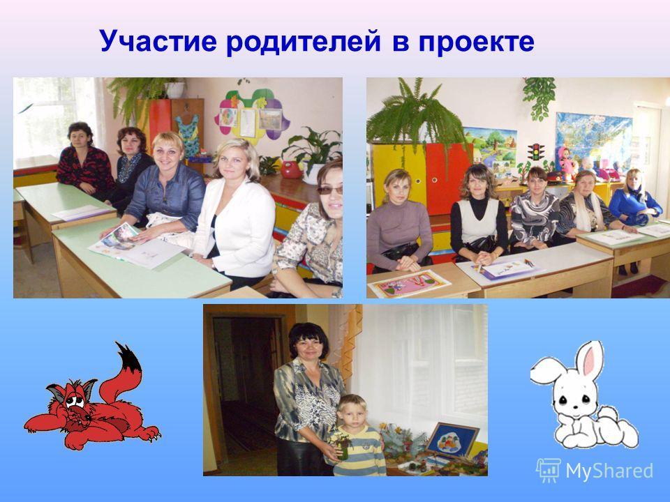 Участие родителей в проекте