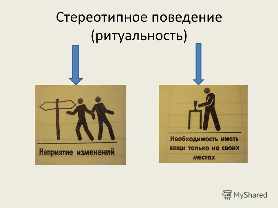 Стереотипное поведение (ритуальность)