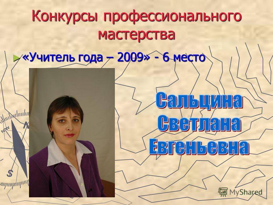 Презентации конкурса профессионального мастерства педагога