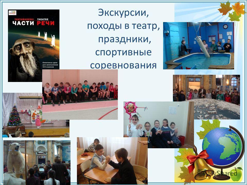 FokinaLida.75@mail.ru Экскурсии, походы в театр, праздники, спортивные соревнования