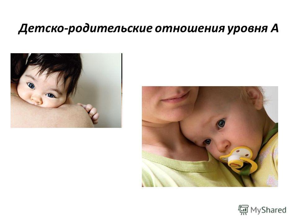 Детско-родительские отношения уровня А