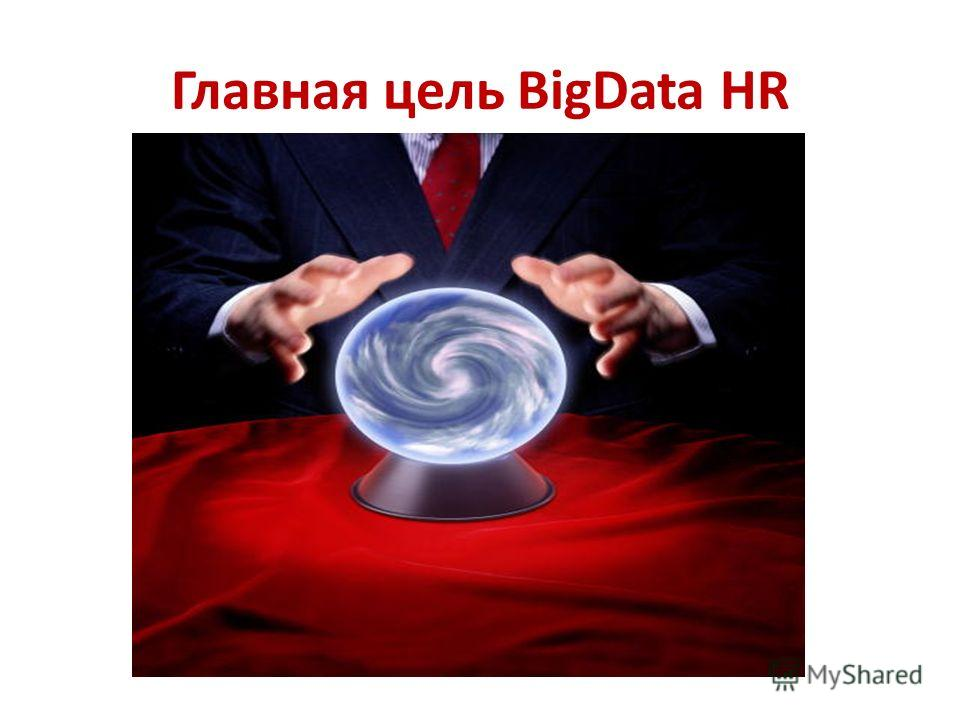 Главная цель BigData HR