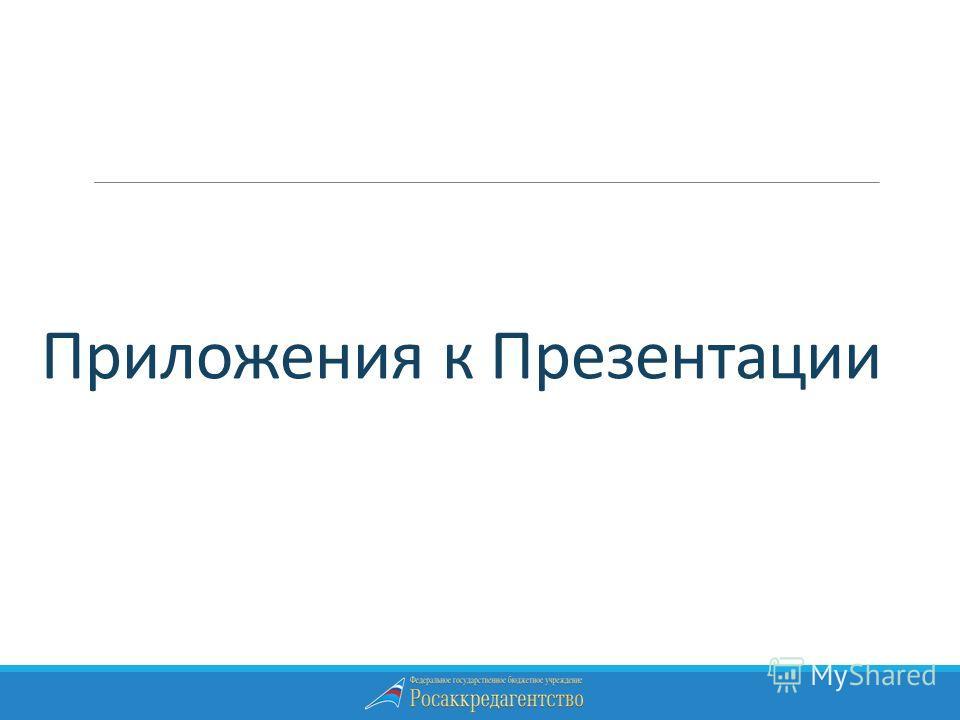 Приложения к Презентации