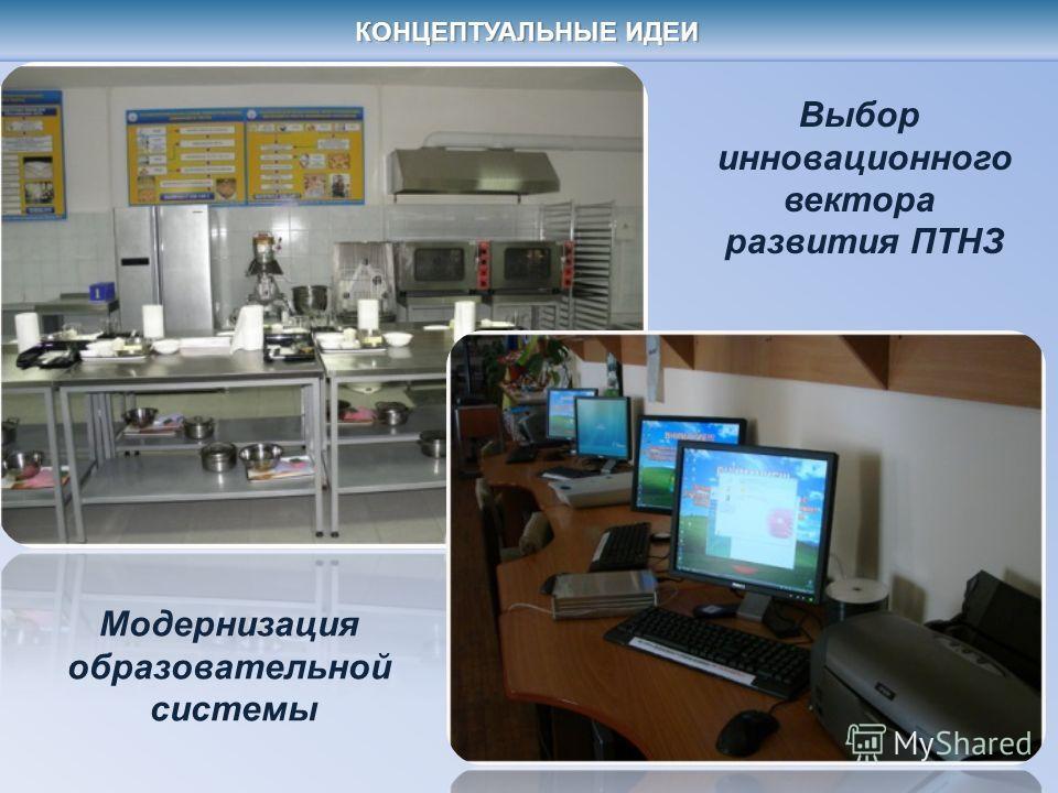 Модернизация образовательной системы Выбор инновационного вектора развития ПТНЗ