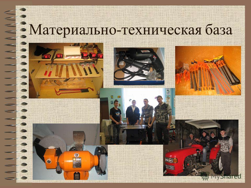 Материально-техническая база