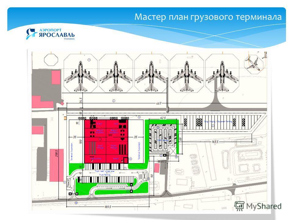 15 Мастер план грузового терминала