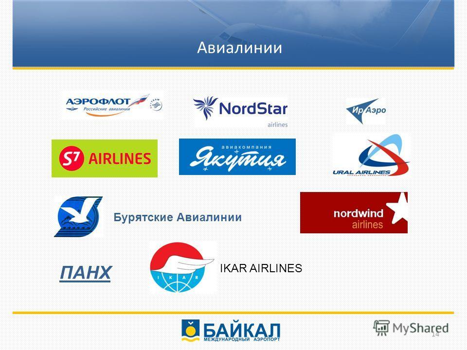 Бурятские Авиалинии ПАНХ Направления Авиалинии 14 IKAR AIRLINES