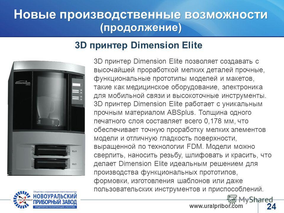 www.rosatom.ru www.uralpribor.com 23 В 2012 году введена в эксплуатацию линия автоматического поверхностного монтажа Технические характеристики линии поверхностного монтажа: производительность – 6000 компонентов в час типы устанавливаемых компонентов