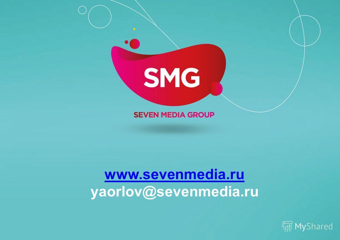 www.sevenmedia.ru yaorlov@sevenmedia.ru