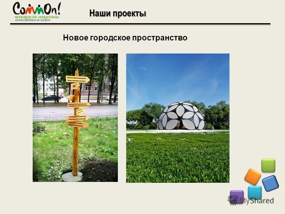Наши проекты Новое городское пространство