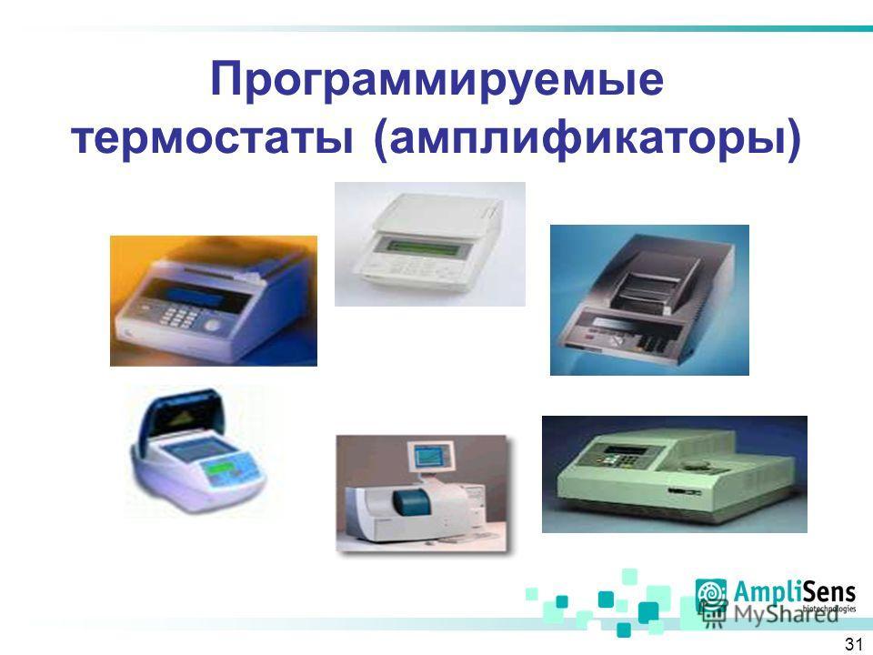 31 Программируемые термостаты (амплификаторы)