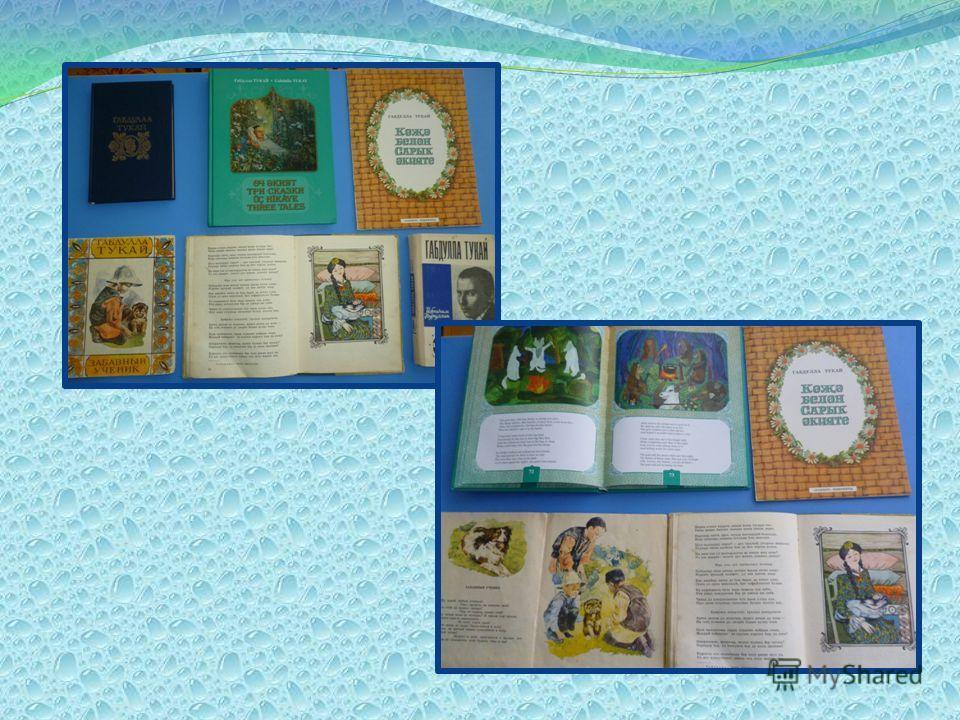 Знакомимся с выставкой книг Тукая в библиотеке