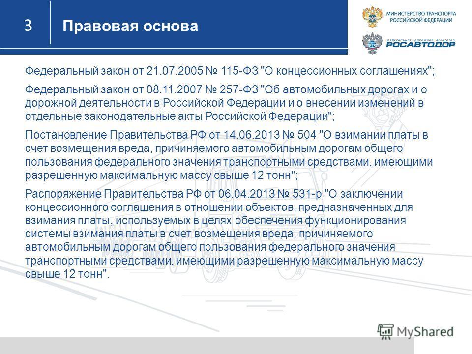 3 3 Федеральный закон от 21.07.2005 115-ФЗ