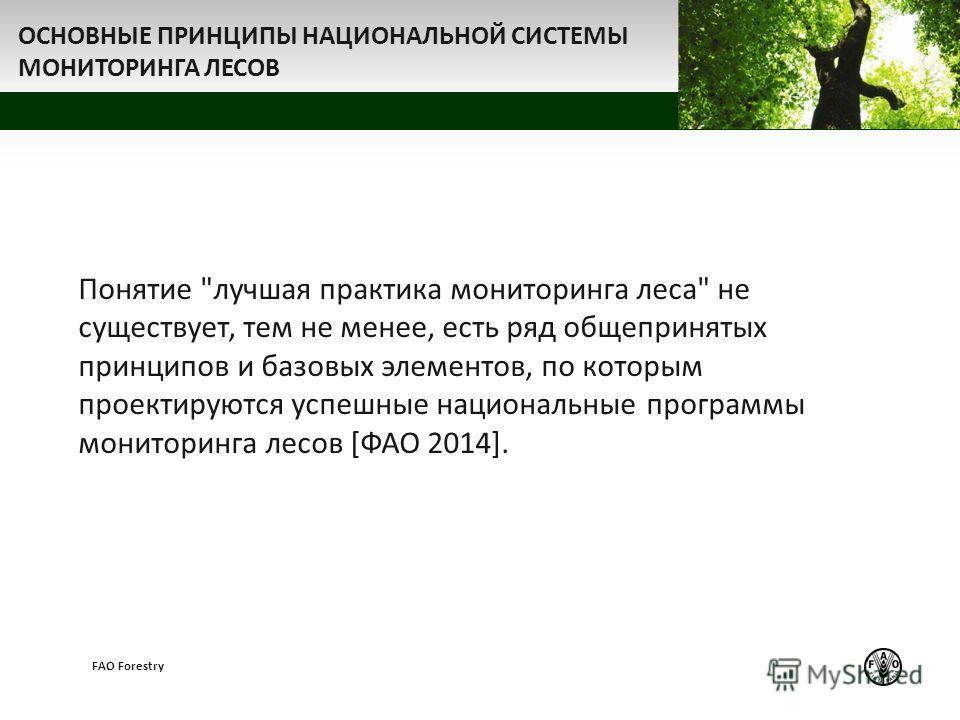 z FAO Forestry ОСНОВНЫЕ ПРИНЦИПЫ НАЦИОНАЛЬНОЙ СИСТЕМЫ МОНИТОРИНГА ЛЕСОВ Понятие