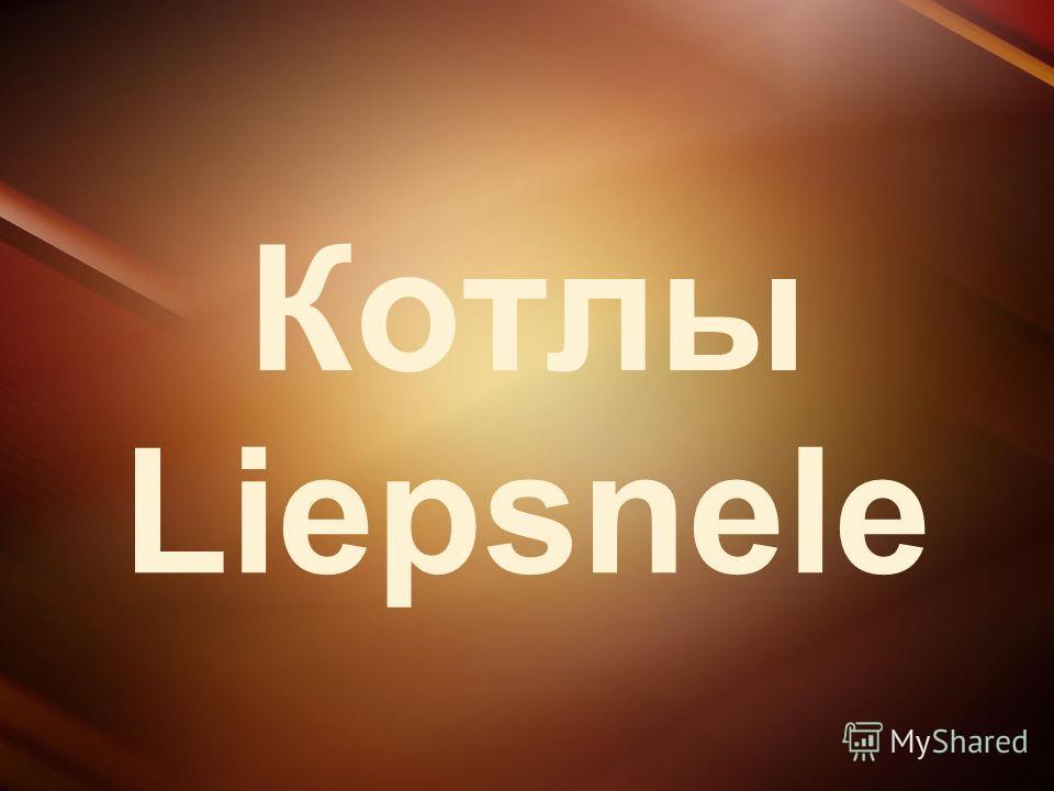 Котлы Liepsnele