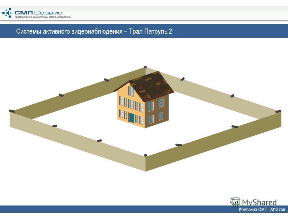 Системы активного видеонаблюдения – Трал Патруль 2 Компания СМП, 2012 год
