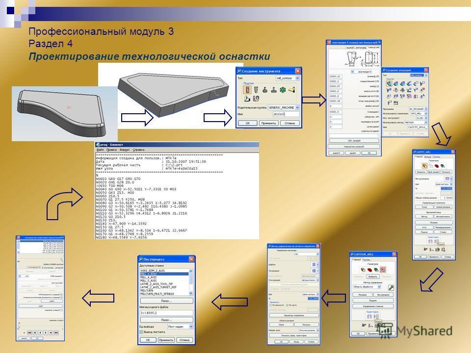 Профессиональный модуль 3 Раздел 4 Проектирование технологической оснастки