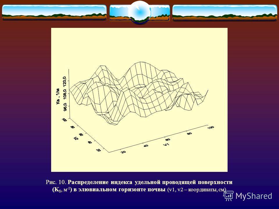 Физическая неоднородность определяет неравномерность фильтрационных сопротивлений в горизонте почвы, что заставляет влагу перераспределяться из зон с большим фильтрационным сопротивлением в зоны с малым сопротивлением, создавая тем самым такой же эфф