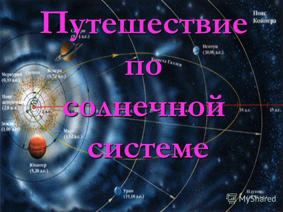 Путешествие по солнечной системе системе