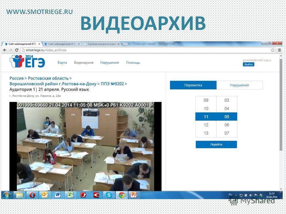 ВИДЕОАРХИВ WWW.SMOTRIEGE.RU