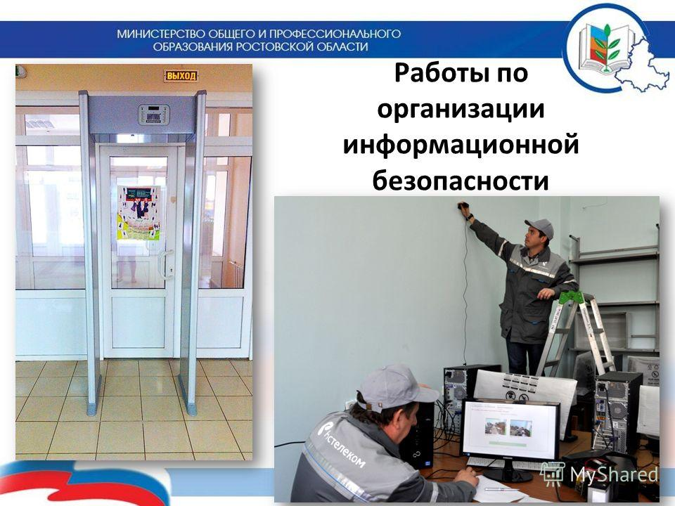 Работы по организации информационной безопасности