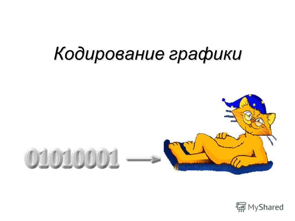 Кодирование графики